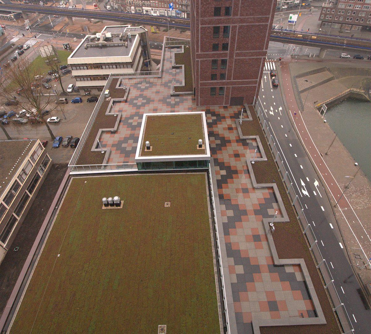 Multifunctioneel wooncomplex Maashaven