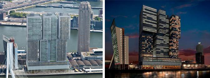 Verticale stad De Rotterdam