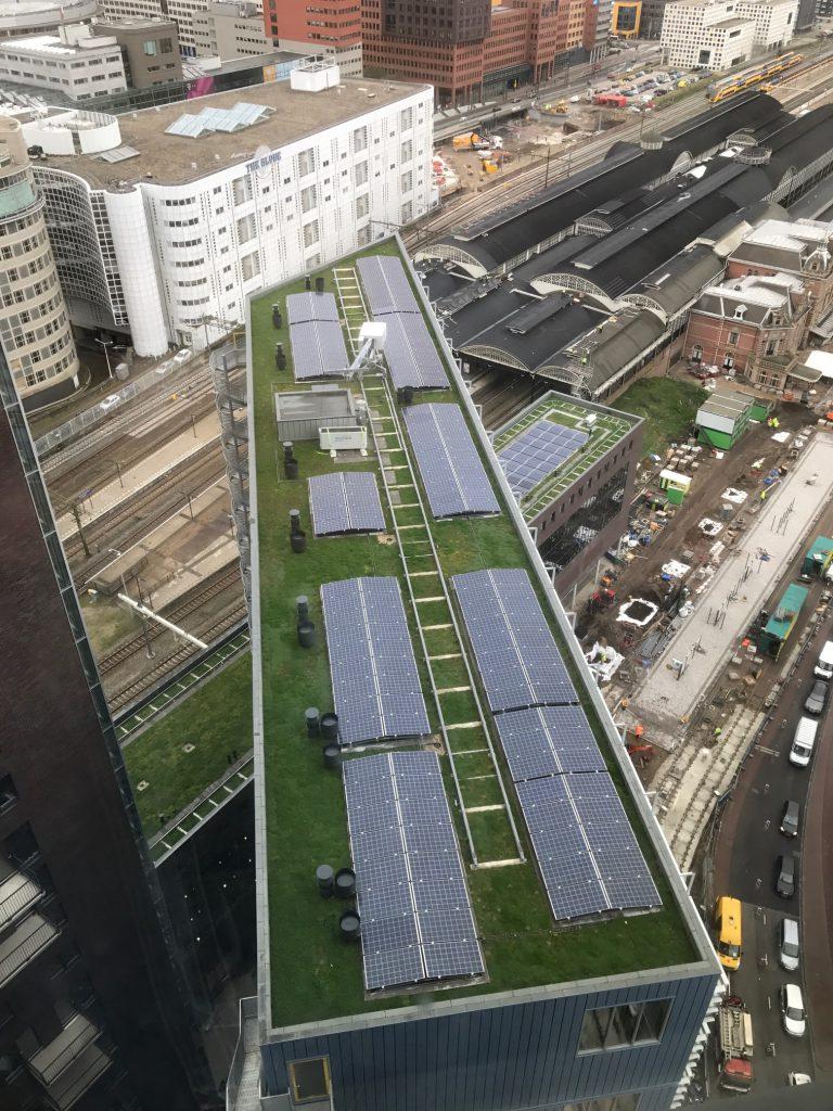 Zonnepanelen in Den Haag